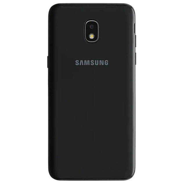 Samsung Galaxy J3 (2018), Tracfone, Black, 16 GB, 5 in Screen