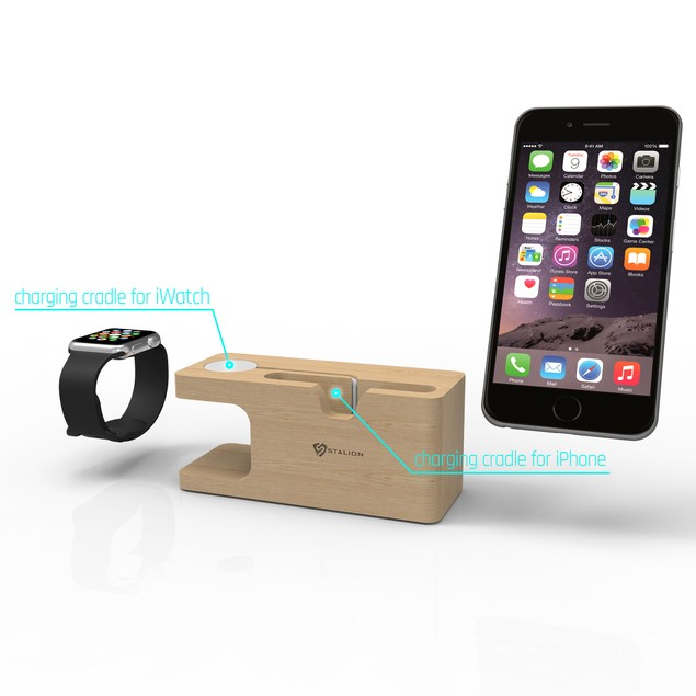 Charging Dock Station for iPhone 6 6S 7Plus & Apple Watch