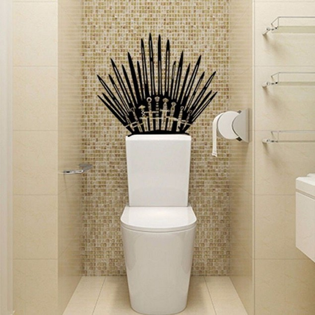 Iron Throne Swords Vinyl Decal