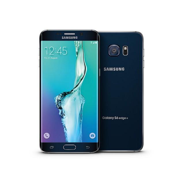 Samsung Galaxy S6 Edge+, T-Mobile, Black, 32 GB, 5.7 in Screen