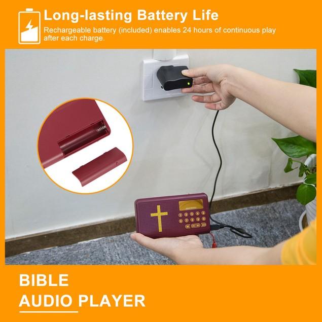 Talking Bible Audio Bible Player English King James Version Bible Reading Player