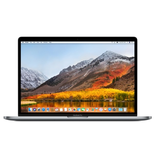 """Apple MacBook Pro MPTR2LL/A 15.4"""" 512GB i7-7700HQ macOS,Space Gray (Certified"""