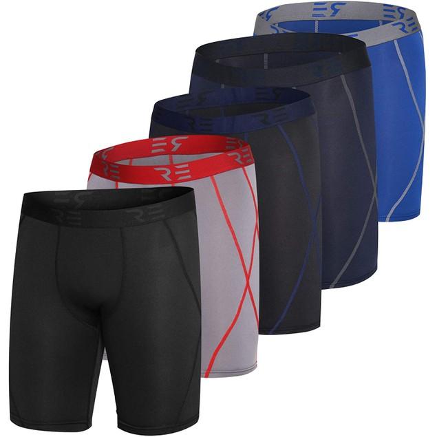 Mens 5pk Active Compression Shorts (S-2XL)