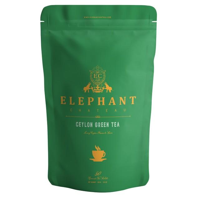 Royal Green Tea (High Grade Ceylon Tea)   Organic Tea   Elephant Chateau
