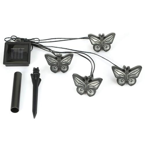 Solar String Light 4 Butterfly Fairy Lights