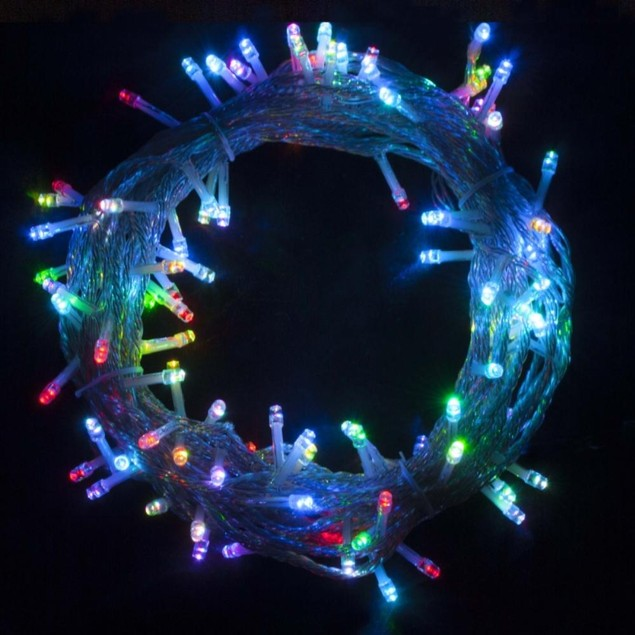 Multicolored Christmas Decoration Lights