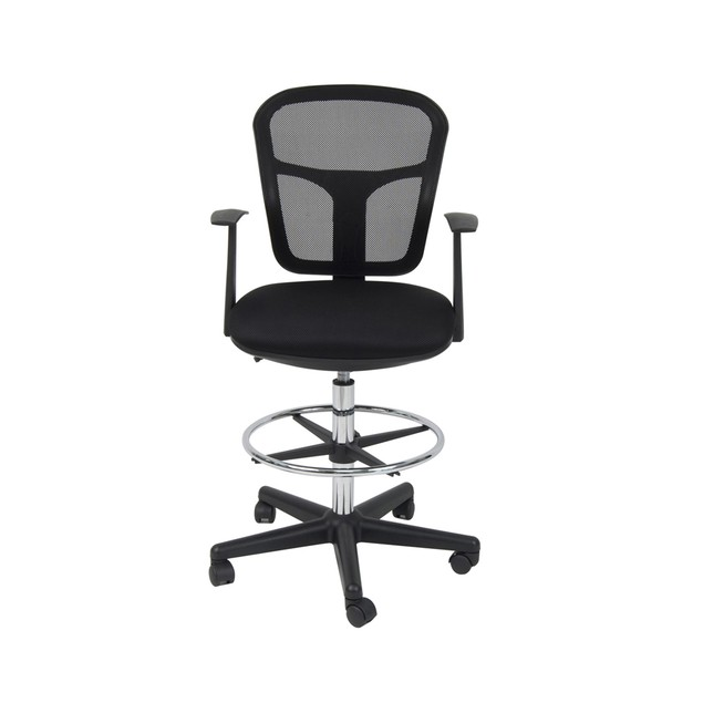 Offex Riviera Drafting Chair - Black