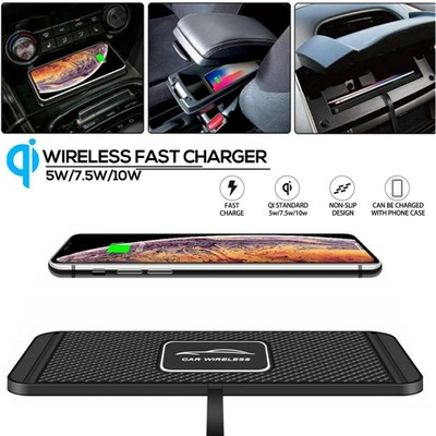 QI Wireless Car Phone Fast Charger For iPhone Samsung Universal