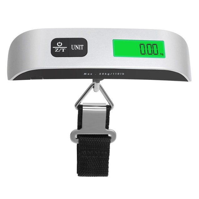 Digital Display Luggage Scale for Travel - Weighs up to 110lb/50kg