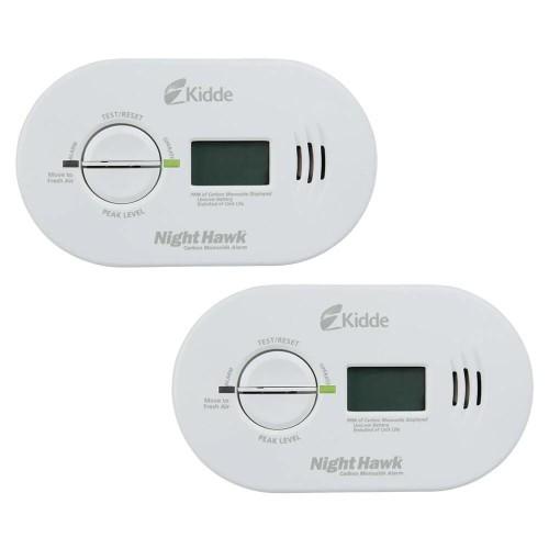 Kidde Firex Battery Operated Carbon Monoxide Detector w/ Digital Display, 2