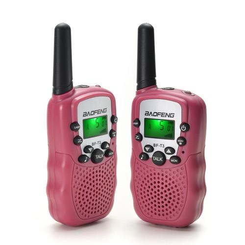 Baofeng Kid Walkie Talkies 22 Channel Walkie Talkies 2 Way Radio 2 Pack