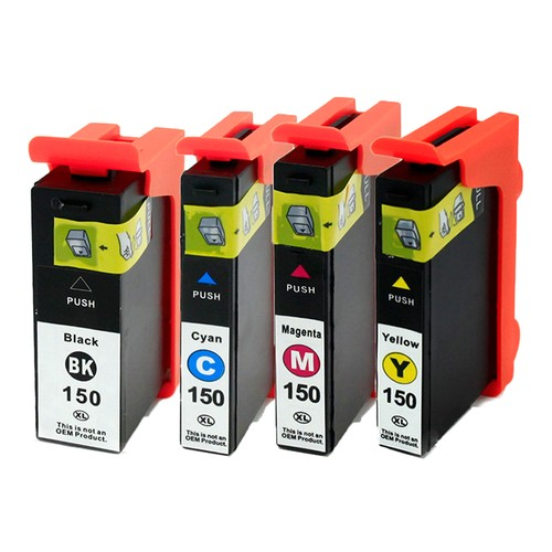 Lexmark 150XL Compatible Ink - 4 pack (High Yield)