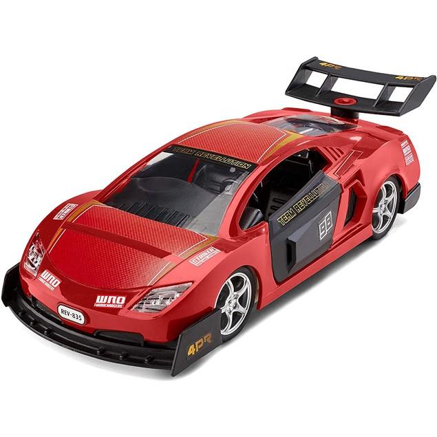 Red Pull Back Junior Revell Racing Car Kit