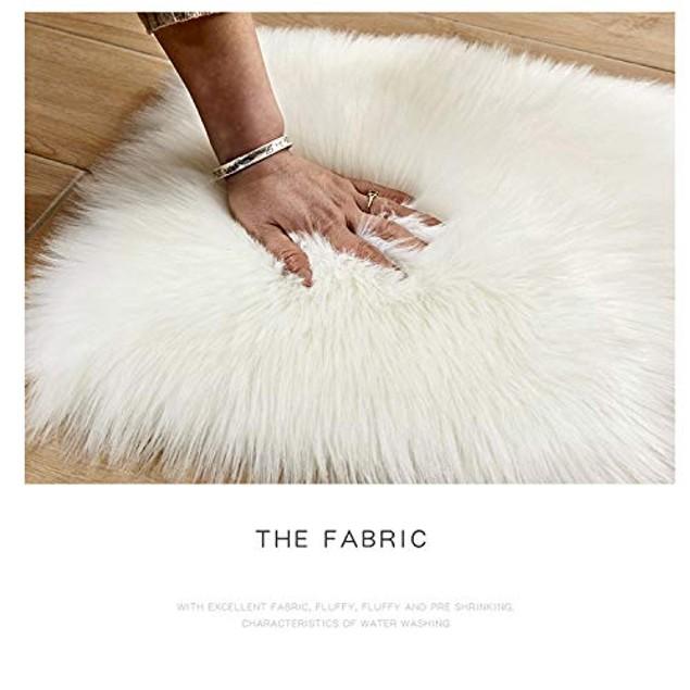 Decorative New Luxury Merino Style Fuzzy Fur Throw Pillow (Blush Pink)