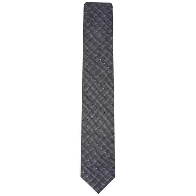Alfani Men's Slim Geometric Tie Black Size Regular
