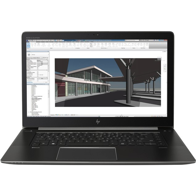 HP ZBook Studio G4 Intel Core i7-7700HQ, Black (Certified Refurbished)