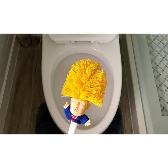 Donald Trump Toilet Cleaner Brush
