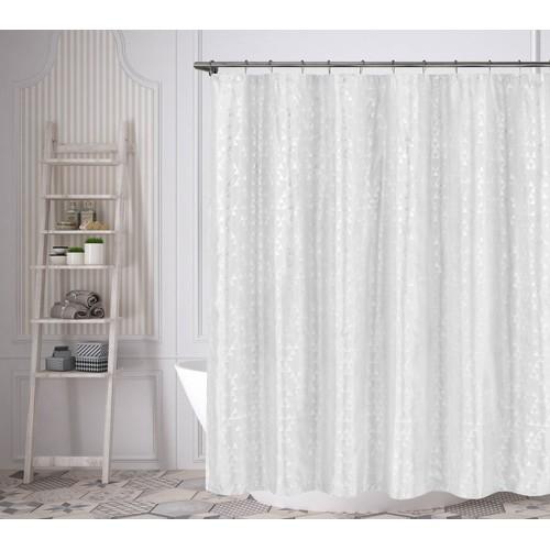 Juno Metallic Taffeta Shower Curtain