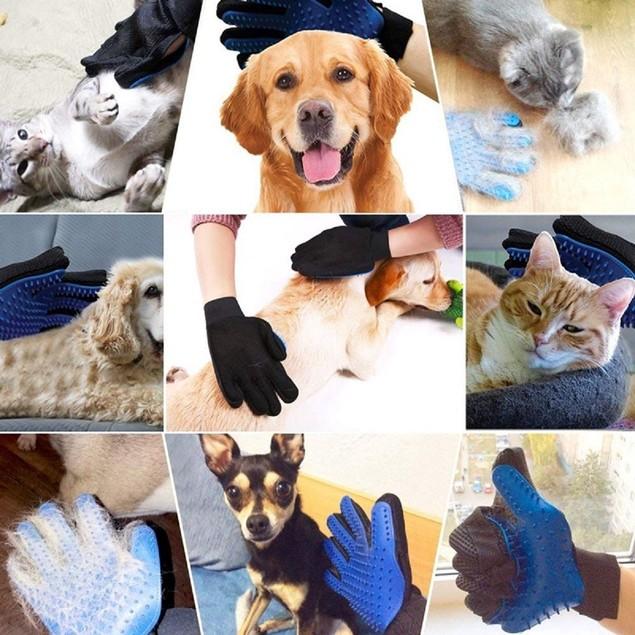 1-Pair Pet Grooming Gloves