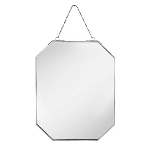 Vintage Hanging Mirror | MandW Silver