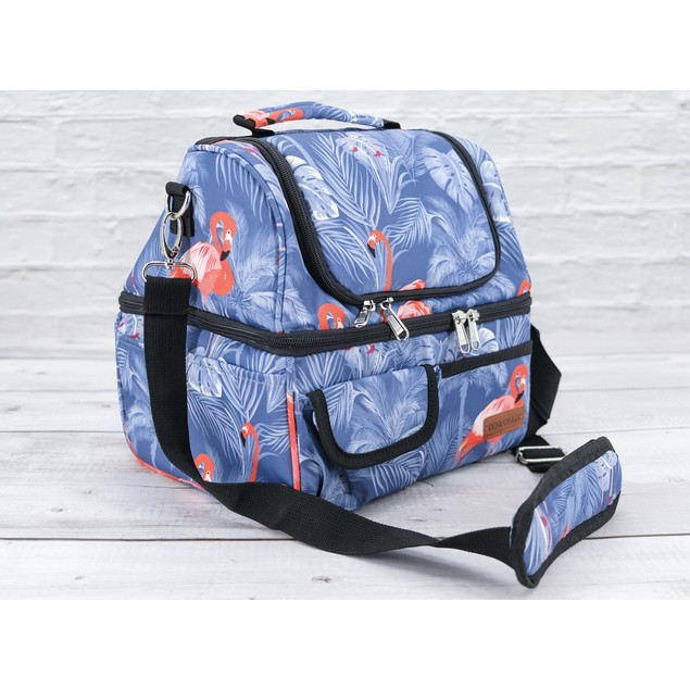 Insulated Multi-Compartment Lunch Box - 3 Colors