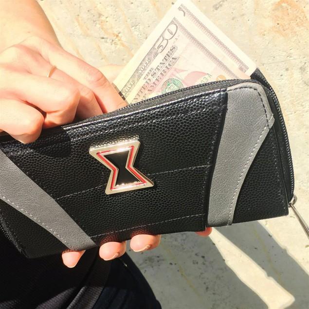 Black Widow Suit Up Women's Zipper Wallet