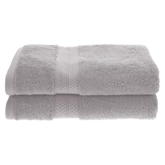 650 GSM Quick-Dry Bamboo Bath 2-Piece Towel Set