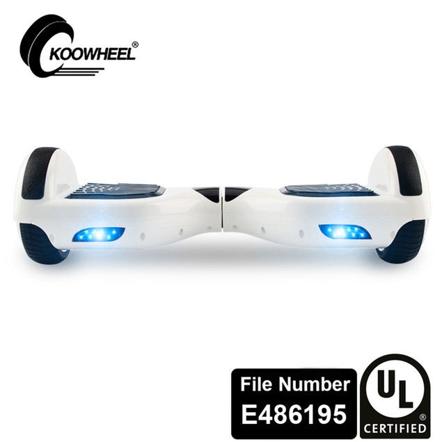 Self Balancing Scooter UL2272 Certified Bluetooth Speaker LED Light