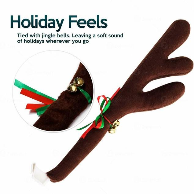 Zone Tech Vehicle Reindeer Costume Antler Christmas Holiday Jingle Bells