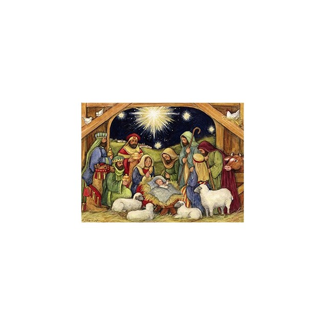 Nativity 1000 Piece Puzzle, 1000 Piece Puzzle by Lang Companies