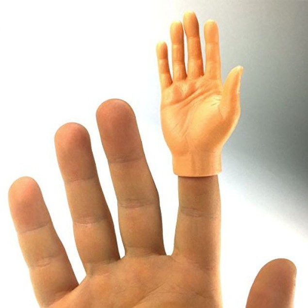 Finger Hands Right Light (1 Piece) White Caucasian Puppets Hand