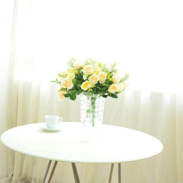 Artificial Silk Peony Flowers Home Garden Wedding Party Bouquet Decor