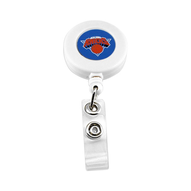 New York Knicks Retractable Badge Reel Id Ticket Clip