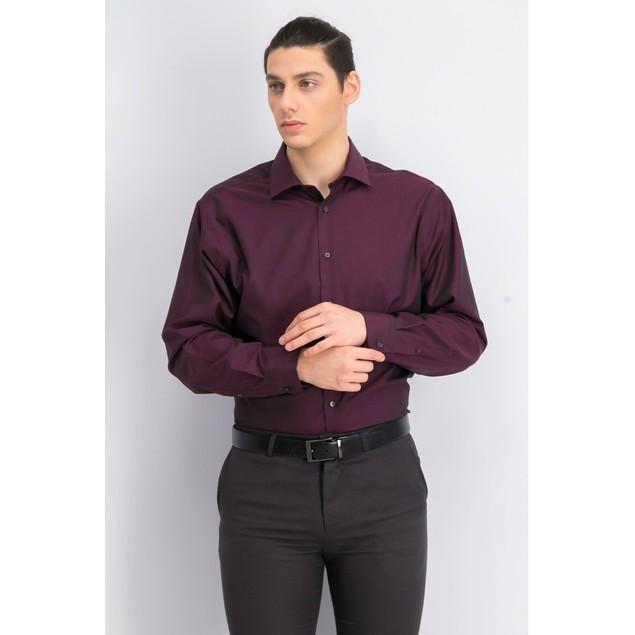 Calvin Klein Men's Performance Herringbone Red Size 34X35