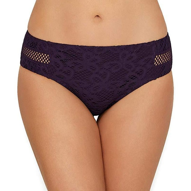 BECCA ETC Women's Plus Size Captured Hipster Bikini Bottom Sz  0X (14-