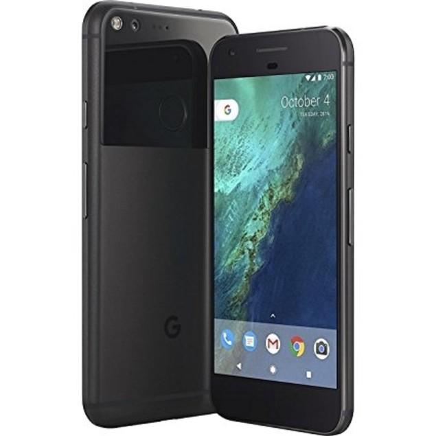 Google Pixel, Unlocked, Grade B-, Black, 128 GB, 5 in Screen