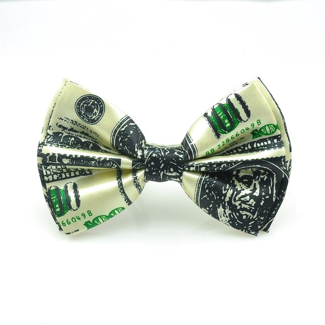 100 Dollar Bill Bow Tie