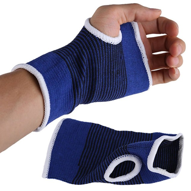 1 Pair Palm Wrist Hand Support Elastic Sleeve Gloves