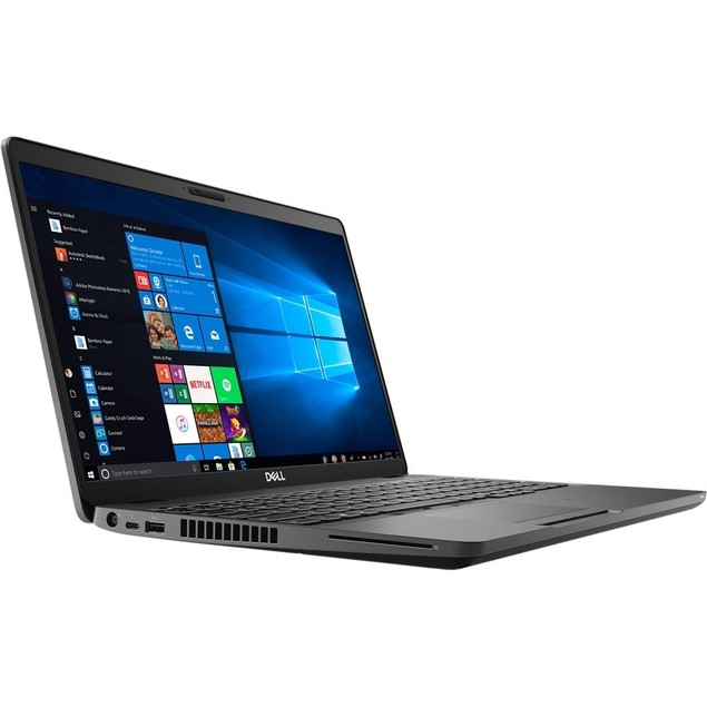 "Dell Latitude 5500 15.6"" 512GB Win10, Black (Certified Refurbished)"