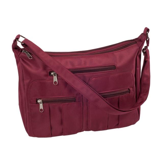 6-Zipper Slim-Line Classic Organizer Bag