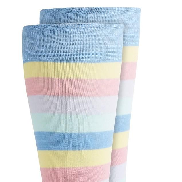 Bar III Men's Striped Socks Purple Size Regular