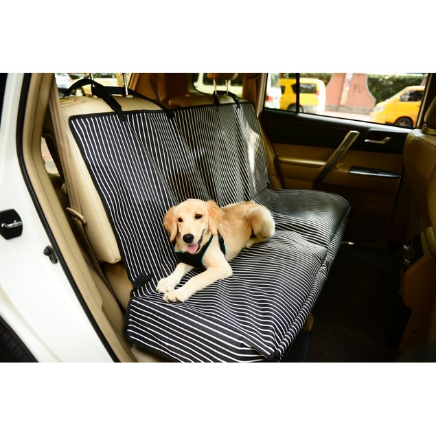Pet Life Mess-Free Back Car Seat Cover Protector For Dog & Cats