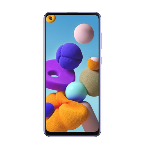 Samsung Galaxy A21S SM-A217M/DS Factory Unlocked 64+4GB RAM Phone - Blue