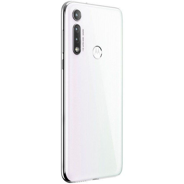Motorola MOTO G8, Verizon, White, 64 GB, 6.4 in Screen