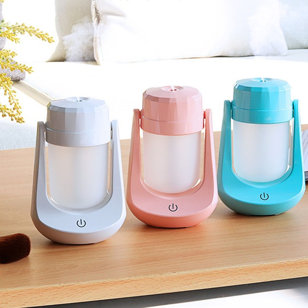 Mini Night Light LED Lamp Humidifier Air Diffuser Purifier Atomizer