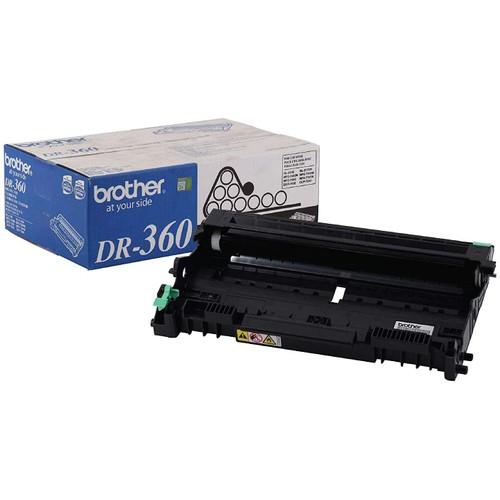 Brothers Brother Genuine Drum Unit, DR360, Seamless Integration, Yields Up to 12,000 Pages, Black