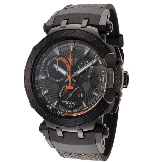 Tissot Men's T-Race Grey Dial Watch - T1154173706105