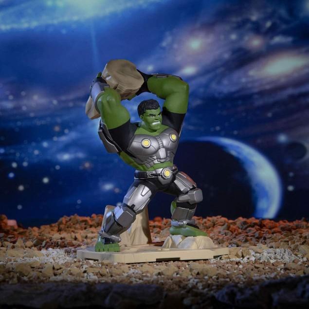 Zoteki Avengers Series-1 4 Inch Connect N Create Hulk 002 - Iconic Scenes