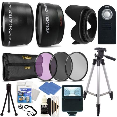 Canon T3i (600D) Digital SLR Ultimate Accessory Bundle for 58mm Camera/Lenses