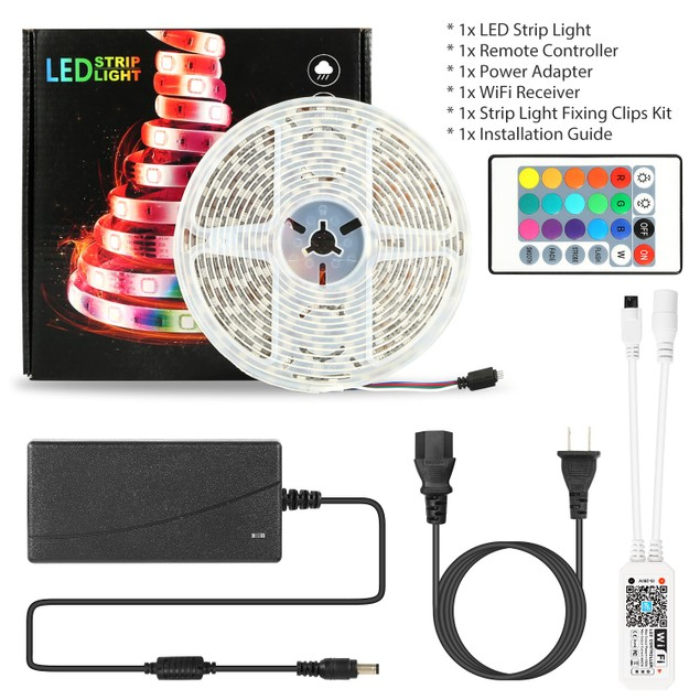 LED Strip Lights, iMounTEK 16.4FT 300 LEDs SMD5050 RGB Color Changing
